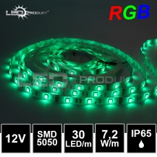 LED pásek SMD5050 RGB 30LED/m, IP65,12V