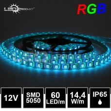 LED pásek SMD5050 RGB 60LED/m, IP65,12V