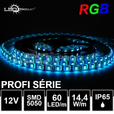 PROFI LED pásek SMD5050 RGB 60LED/m, IP65,12V